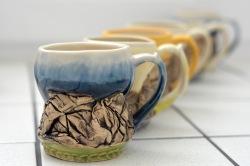 mugs - $70 each